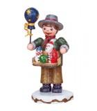 Village de Noël miniature, figurine enfant vendeur de jouets