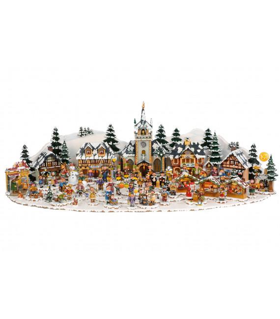 Plateau décor Winterkinder 39 x 23 cm
