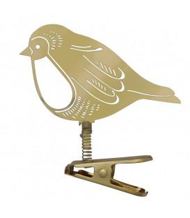 Oiseau à clipser sur le sapin de Noel