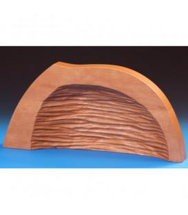 Grotte pour crèche de Noël en bois d'aulne, 39 cm