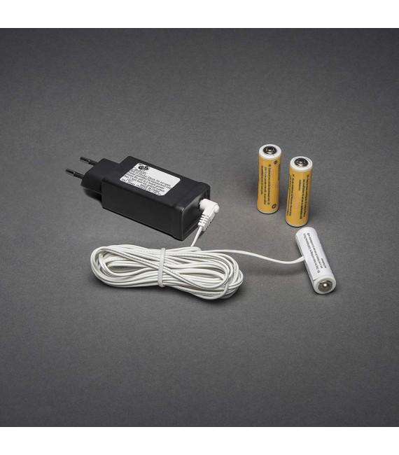 Adaptateur secteur pour piles 3 x 1,5 V AA