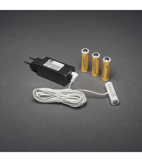 Transformateur adaptateur pour 4 piles 1,5 V LR6