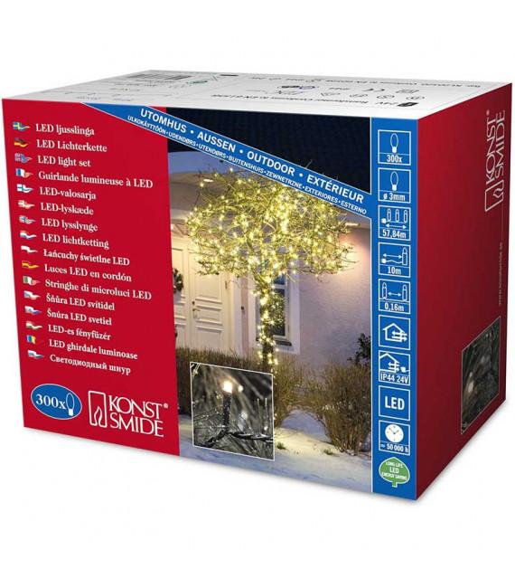 Guirlande de Noël exterieur 300 diodes