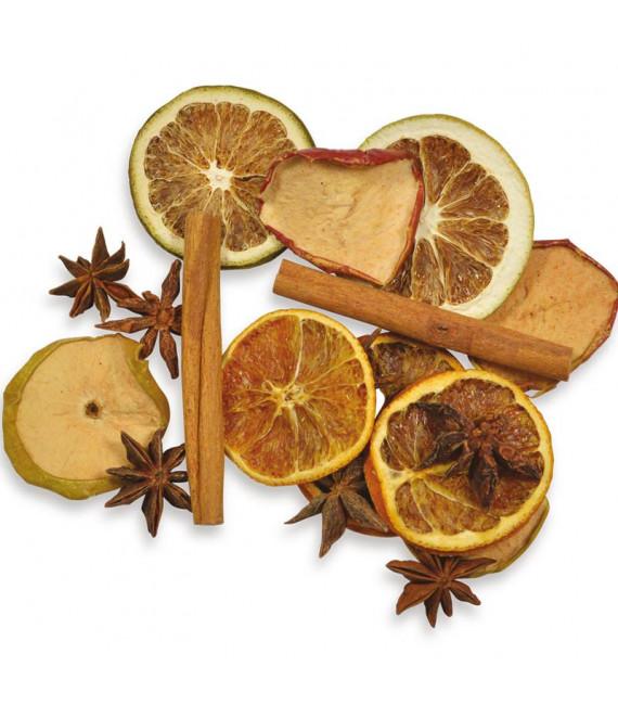 Pot pourri orange, pomme, cannelle, anis, 35 g