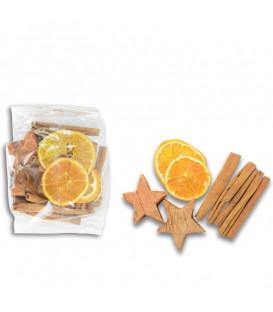 Pot pourri cannelle, coco, orange, 80 g