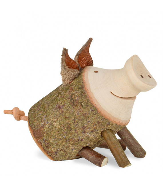 cochon Trudie taille 1 assis