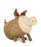 cochon Trudie taille 2 assis