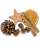 Pot pourri pomme de pin, coco, pomme, cannelle, 150 g