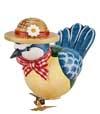 Oiseau décoratif