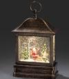 Lanternes de Noël à neige