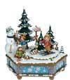 Boite a musique Noël