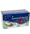 Bougies de Noël pour sapins et pyramides allemandes