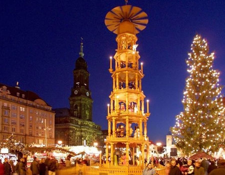 Pyramides de Noël allemandes
