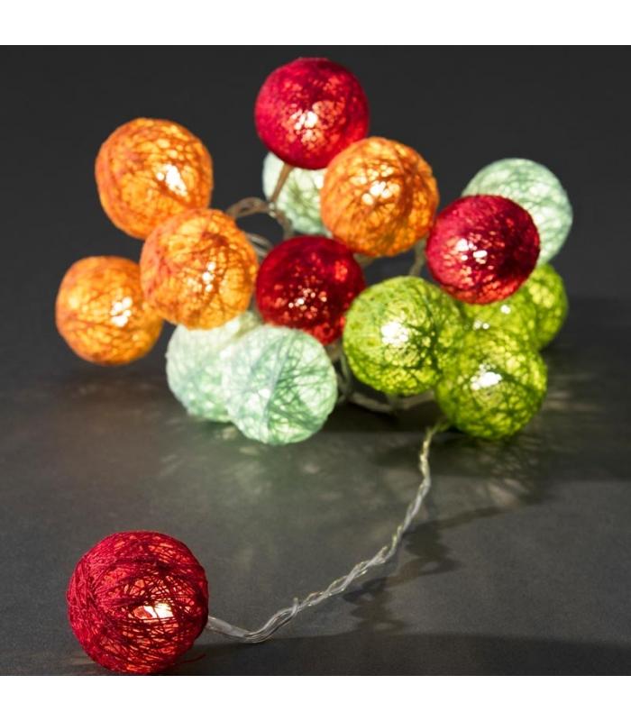 La guirlande lumineuse boule s invite dans votre maison - Guirlande lumineuse boules ...