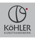 Köhler, Père Noël en bois